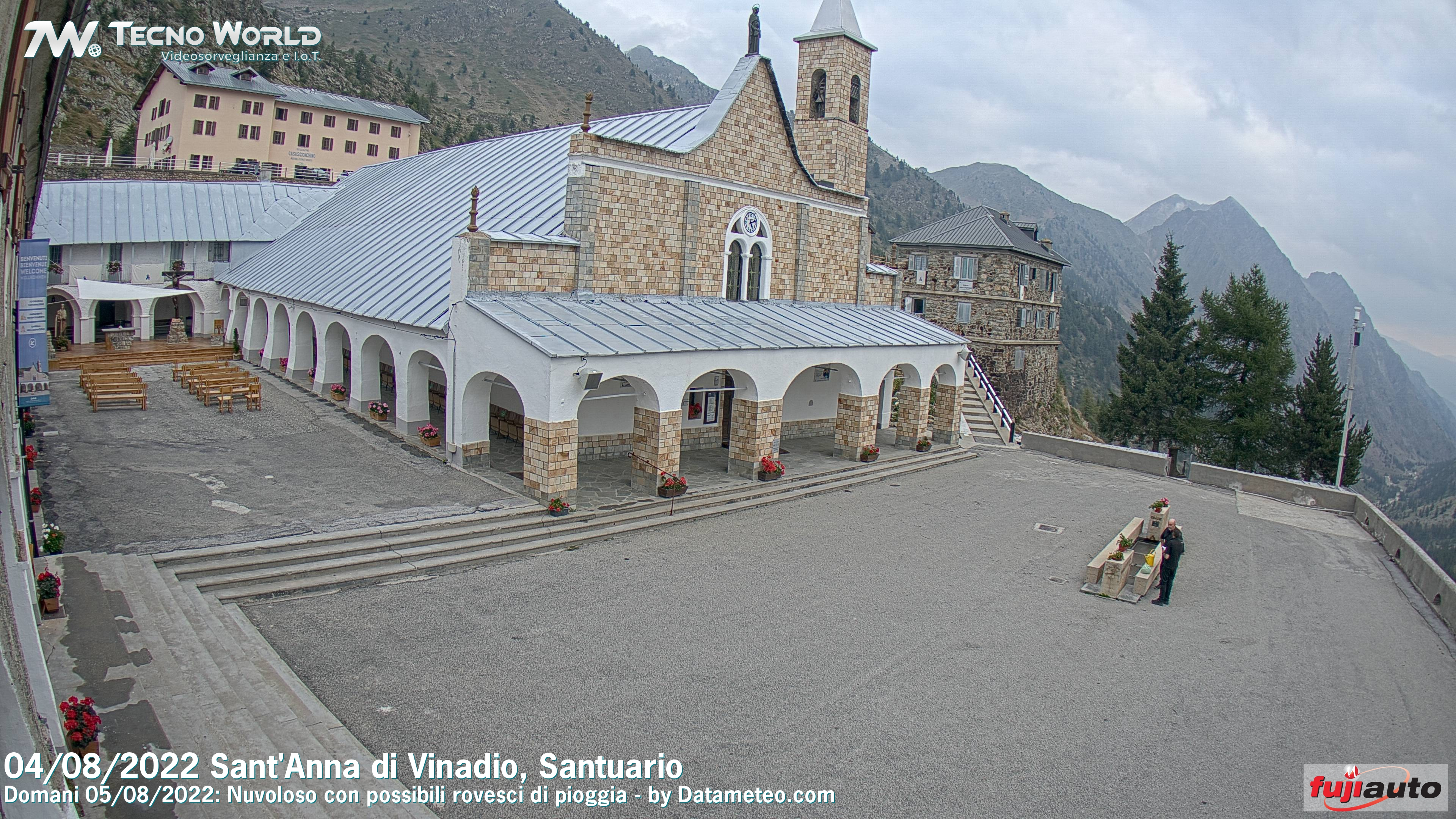 Webcam Sant'Anna di Vinadio