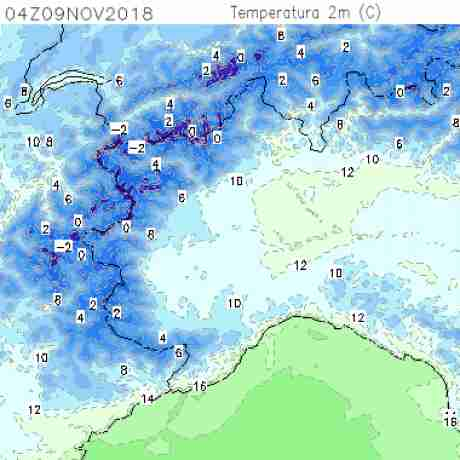 Carte meteo temperatura del <br /> <b>Notice</b>:  Undefined variable: current in <b>/home/meteopie/public_html/mappe-meteo.php</b> on line <b>25</b><br /> 10