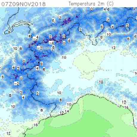 Carte meteo temperatura del <br /> <b>Notice</b>:  Undefined variable: current in <b>/home/meteopie/public_html/mappe-meteo.php</b> on line <b>25</b><br /> 13