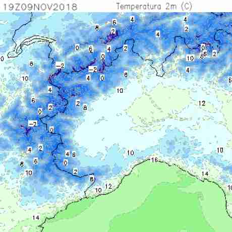 Carte meteo temperatura del <br /> <b>Notice</b>:  Undefined variable: current in <b>/home/meteopie/public_html/mappe-meteo.php</b> on line <b>25</b><br /> 25