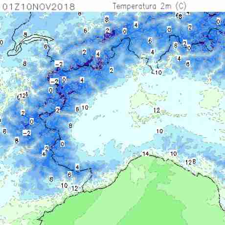 Carte meteo temperatura del <br /> <b>Notice</b>:  Undefined variable: current in <b>/home/meteopie/public_html/mappe-meteo.php</b> on line <b>25</b><br /> 31