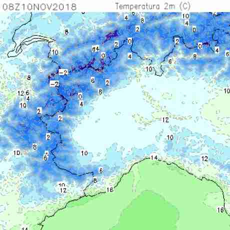 Carte meteo temperatura del <br /> <b>Notice</b>:  Undefined variable: current in <b>/home/meteopie/public_html/mappe-meteo.php</b> on line <b>25</b><br /> 38
