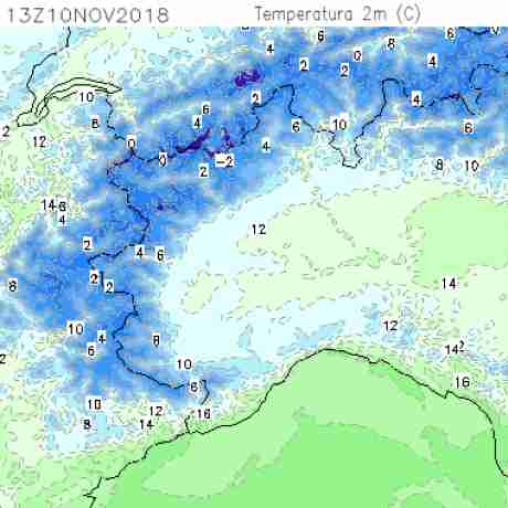 Carte meteo temperatura del <br /> <b>Notice</b>:  Undefined variable: current in <b>/home/meteopie/public_html/mappe-meteo.php</b> on line <b>25</b><br /> 43