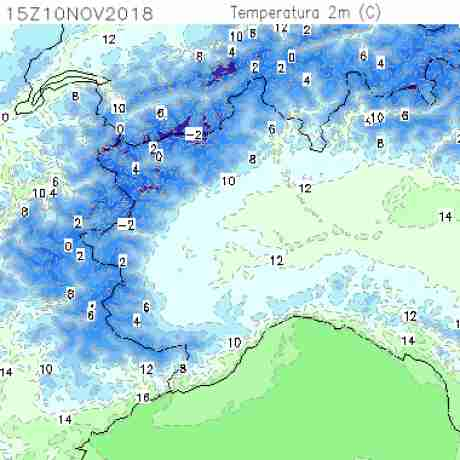 Carte meteo temperatura del <br /> <b>Notice</b>:  Undefined variable: current in <b>/home/meteopie/public_html/mappe-meteo.php</b> on line <b>25</b><br /> 45