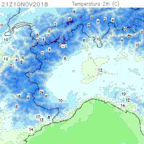 Carte meteo temperatura del <br /> <b>Notice</b>:  Undefined variable: current in <b>/home/meteopie/public_html/mappe-meteo.php</b> on line <b>25</b><br /> 51