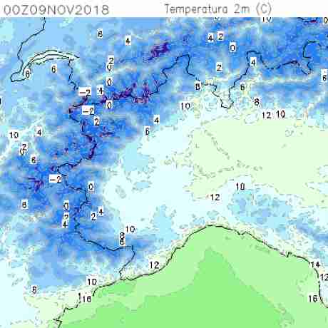 Carte meteo temperatura del <br /> <b>Notice</b>:  Undefined variable: current in <b>/home/meteopie/public_html/mappe-meteo.php</b> on line <b>25</b><br /> 6