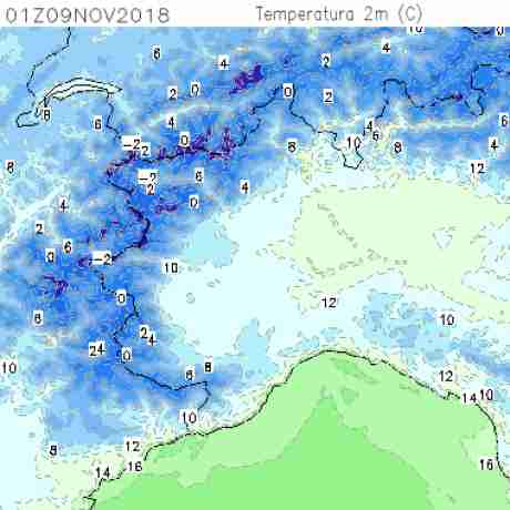 Carte meteo temperatura del <br /> <b>Notice</b>:  Undefined variable: current in <b>/home/meteopie/public_html/mappe-meteo.php</b> on line <b>25</b><br /> 7