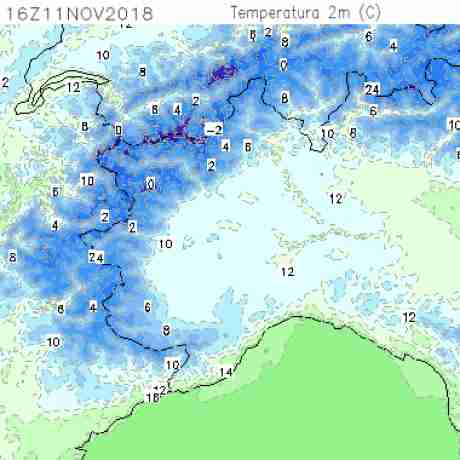 Carte meteo temperatura del <br /> <b>Notice</b>:  Undefined variable: current in <b>/home/meteopie/public_html/mappe-meteo.php</b> on line <b>25</b><br /> 70